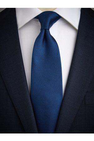 John Henric Man Slipsar - Blue Tie Structure
