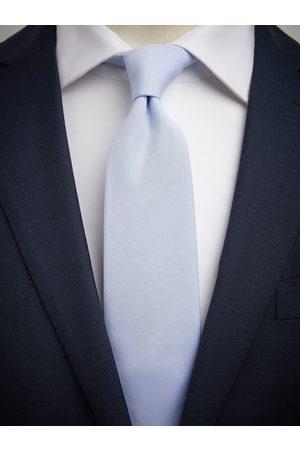 John Henric Light Blue Tie Cotton