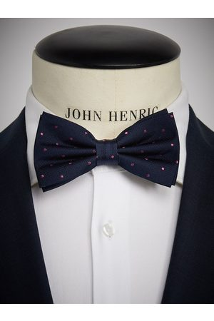 John Henric Man Flugor - Blue Bow Tie Dot