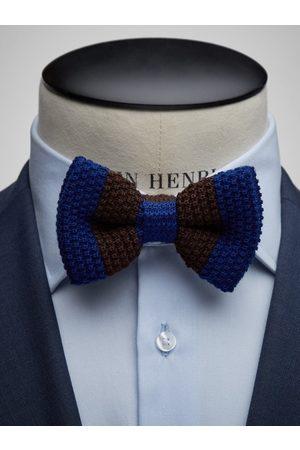 John Henric Man Flugor - Brown Bow Tie Wool Club