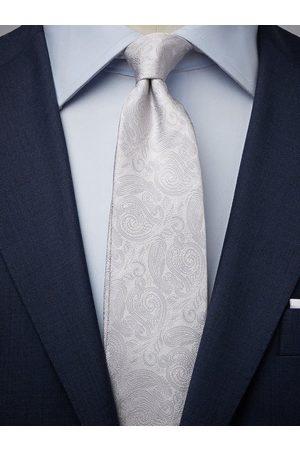 John Henric Silver Tie Formal