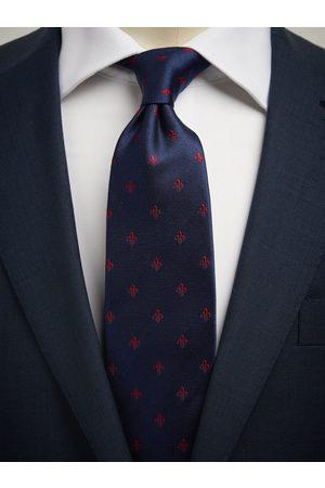 John Henric Blue Tie Motif