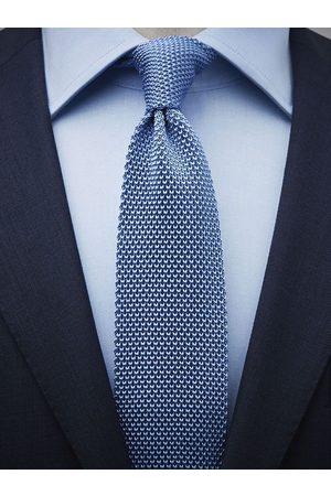 John Henric Light Blue Knitted Tie