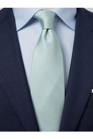 John Henric Mint Green Tie Plain