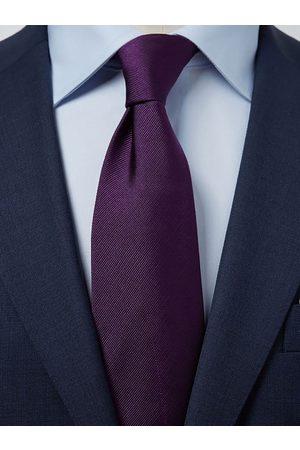 John Henric Dark Purple Tie Plain