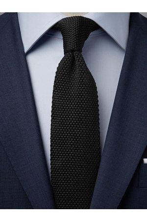 John Henric Black Knitted Tie