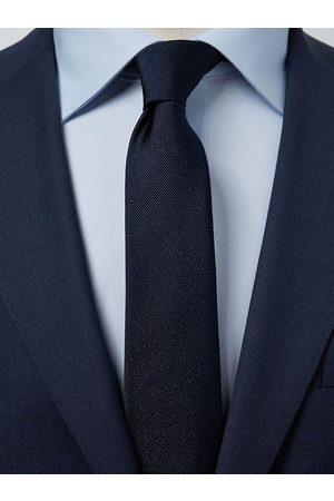 John Henric Dark Blue Tie Plain
