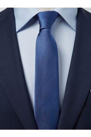 John Henric Man Slipsar - Blue Tie Plain