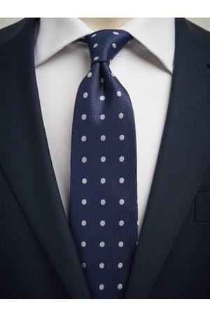 John Henric Blue Tie Polka Dot