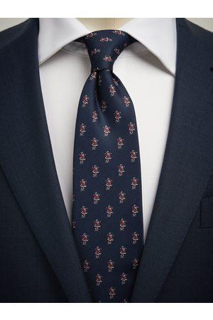 John Henric Man Slipsar - Blue Christmas Tie