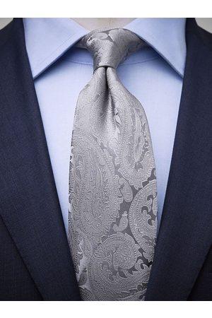 John Henric Man Slipsar - Silver Tie Formal