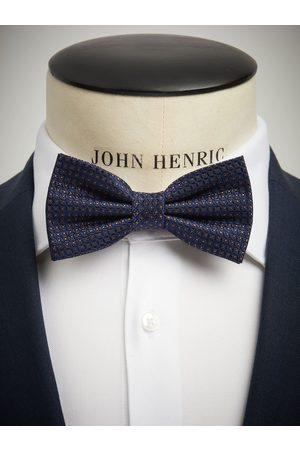John Henric Blue Bow Tie Structure