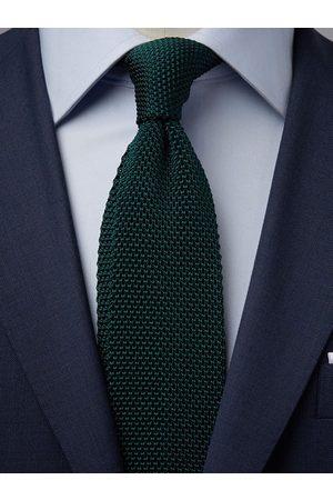 John Henric Man Stickade tröjor - Green Knitted Tie