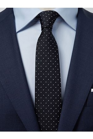 John Henric Man Slipsar - Black Tie Dot
