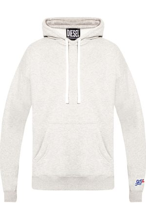 Diesel Insulated hoodie with logo