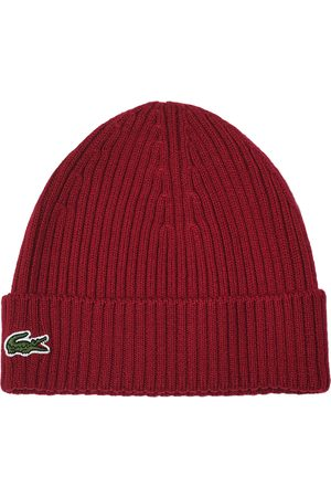 Lacoste Knitted Beanie Bordeaux