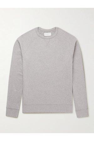 OFFICINE GENERALE Man Sweatshirts - Cotton-Jersey Sweatshirt