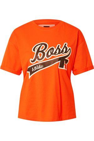 HUGO BOSS Kvinna T-shirts - T-shirt 'C_Evarsy_Russell Athletics