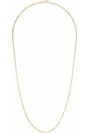 TOM WOOD Halsband - Venetian Chain guldpläterat halsband i sterling silver