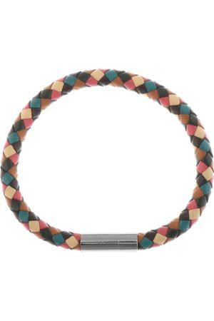 Paul Smith PS By Leather Plait Bracelet