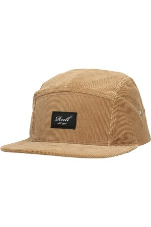 Reell 5-Panel Cap copper brown cord