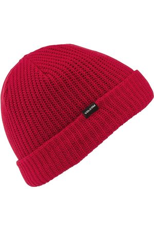 Volcom Sweep Lined By Beanie red