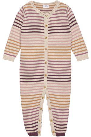 Hust & Claire Malle - Jumpsuit Långärmad Bodysuit Multi/mönstrad