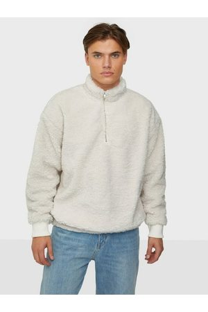 Dr Denim Man Sweatshirts - Dario Zip Sweatshirt Tröjor Offwhite