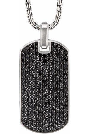 David Yurman Man Halsband - Streamline diamantberlock