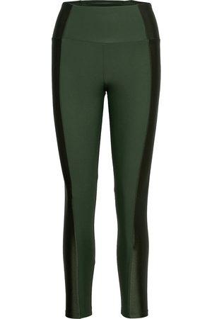 Hunkemöller Kvinna Träningstights - Hw Legging Shine Running/training Tights Grön