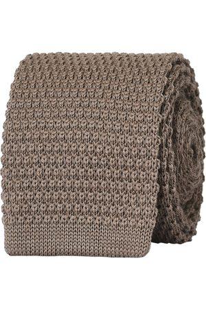 Amanda Christensen Man Stickade tröjor - Wool Knitted 6cm Tie