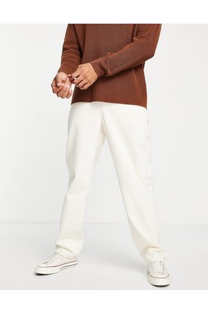 ASOS – Gräddvita baggy jeans- /a