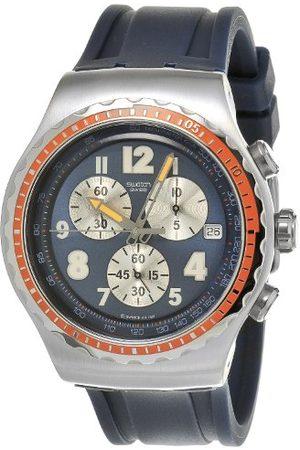Swatch Herr Wrst klocka färg kupol Yos423 med armband i rostfritt stål