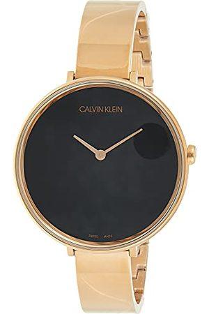 Calvin Klein Unisex vuxen analog digital kvarts klocka med rostfritt stål armband K7A23641