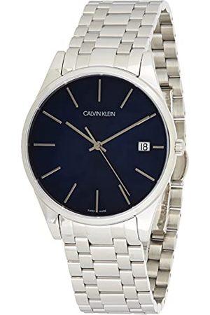Calvin Klein Mäns analog kvarts smart klocka armbandsur med rostfritt stål armband K4N2114N