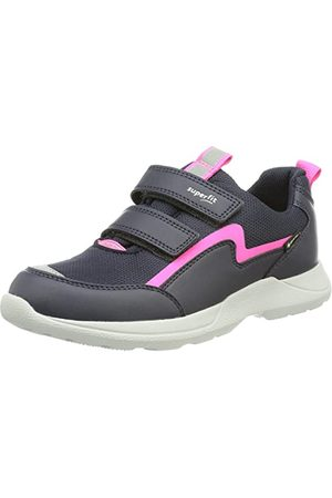 Superfit Rush Sneaker för flickor, Blau 8020- 35 EU