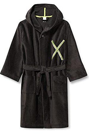 Sanetta Morningcoat grön badrock för pojkar, fantom, 128 cm