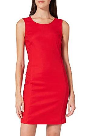 Love Moschino Damer passande rör med tanktopp neck, osynlig dragkedja ner ryggen avslappnad klänning, , 48 SE