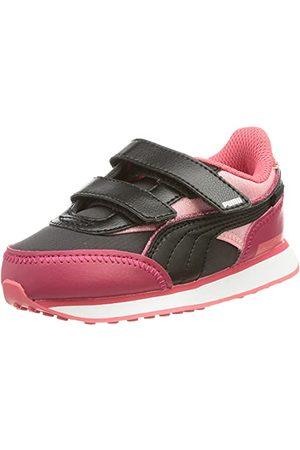 PUMA Baby Girl's Future Rider Ballerina V Inf Sneaker, Lila - Persisk - 25 EU