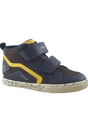 Geox Bebisar pojkar B Kilwi Boy C sneakers, Blå - Marinblå kastanj - 22 EU