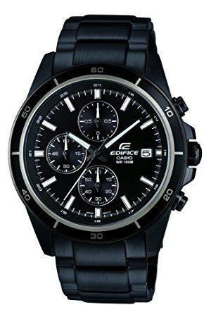 Casio Analog kvartsklocka för män med armband i rostfritt stål – EFR-526BK Armband /