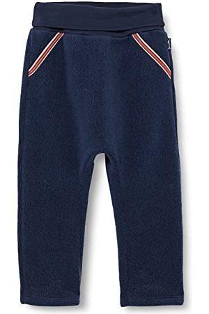 Sanetta Pojke Joggingbyxor - Bebisar pojkar Fiftyseven sweatpants blå fritidsbyxor, Indigoblå, 86 cm