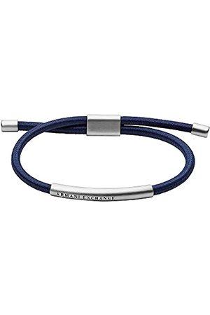 Armani Herrarmband namnlapp rostfritt stål silverfärgad, AXG0064040