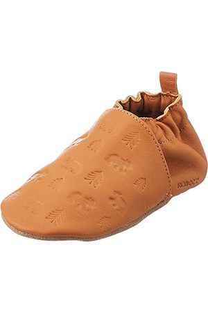 Robeez Unisex Baby Bear's Walk Crib Shoe, - Camel - 28 EU