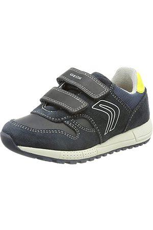 Geox Bebisar pojkar B album pojke D sneakers, Blå - Marinblå fluo - 23 EU