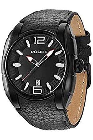 Police Polis herrarmbandsur analog kvarts läder PL.13752JSB/02A