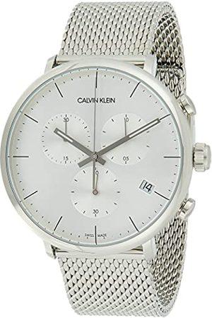 Calvin Klein Unisex vuxen kronograf kvartsur med rostfritt stål armband K8M27126
