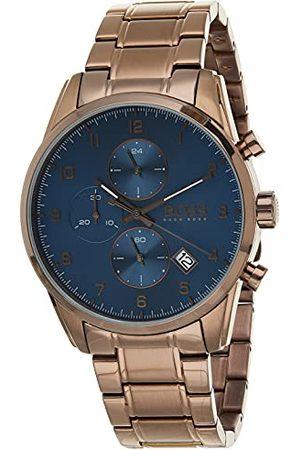 HUGO BOSS Analog kvartsklocka för män med rostfritt stål 1513788