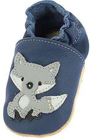 Beck Unisex Baby Blue Fox löparsko, Mörkblå - 22 EU