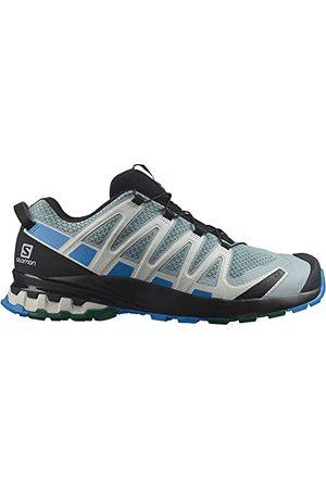Salomon XA PRO 3D V8 Trailrunning-skor för män, Slate Blue Aster Pacific - 40 2/3 EU